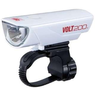 USB充電式LEDライト VOLT200(ホワイト) HL-EL151RC