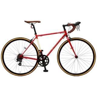 700×25C型 ロードバイク CANOVER ORPHEUS(レッド/490サイズ《適応身長:160cm以上》) CAR-013 【組立商品につき返品不可】