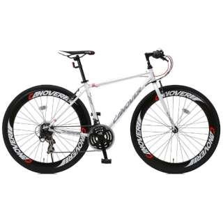 700×28C型 クロスバイク CANOVER NYMPH(ホワイト/450サイズ《適応身長:155cm以上》) CAC-025 【組立商品につき返品不可】