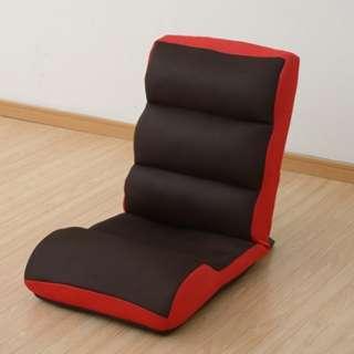 座椅子&腹筋トレーニンググッズ マイエクサチェア(ダークブラウン×レッド) MEX-44
