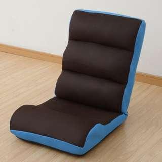 座椅子&腹筋トレーニンググッズ マイエクサチェア(ダークブラウン×ターコイズブルー) MEX-44