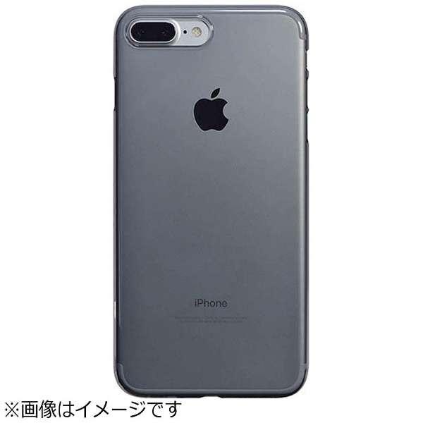 best website 29fc3 0bc9c ビックカメラ.com - iPhone 7 Plus用 エアージャケットセット クリアブラック PBK-73