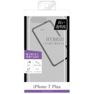 iPhone 7 Plus用 ハイブリッドケース クリア BKS-P13CC2C