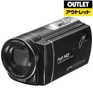 【アウトレット品】 JOY-D600 ビデオカメラ ブラック [フルハイビジョン対応] 【生産完了品】
