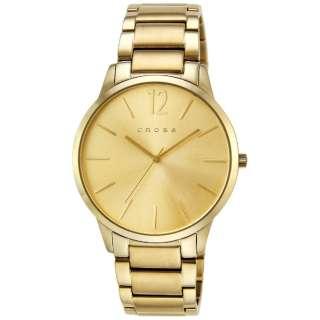 CROSS(クロス) 腕時計 フランクリン (FRANKLIN) CR8003-77 文字盤:ゴールド 【正規品】