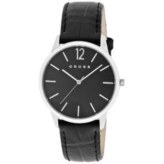 CROSS(クロス) 腕時計 フランクリンミディアム (FRANKLIN MIDIUM) CR8015-01 文字盤:ブラック 【正規品】