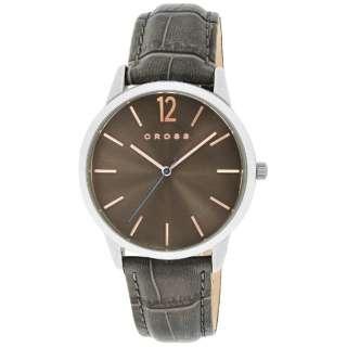 CROSS(クロス) 腕時計 フランクリンミディアム (FRANKLIN MIDIUM) CR8015-04 文字盤:ブラウン 【正規品】