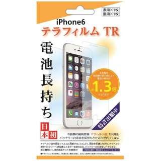 iPhone 6用 テラ フィルム 電池長持ち TRZ8823