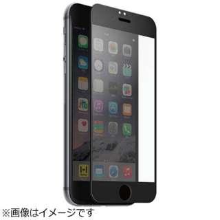 iPhone 6s/6用 プレミアムガラス9H ラウンドエッジ強化ガラス 液晶保護シート 0.33mm ブラック