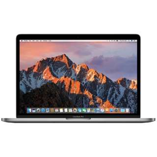 MacBookPro 13インチ Touch Bar搭載モデル[2016年/SSD 256GB/メモリ 8GB/2.9GHzデュアルコア Core i5]スペースグレイ MLH12J/A
