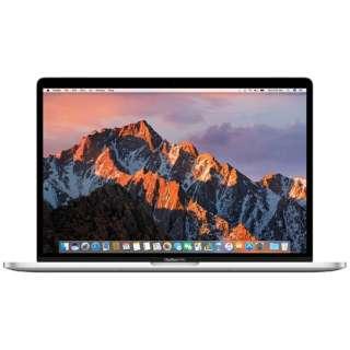MacBookPro 15インチ Touch Bar搭載モデル[2016年/SSD 512GB/メモリ 16GB/2.7GHzクアッドコア Core i7]シルバー MLW82J/A