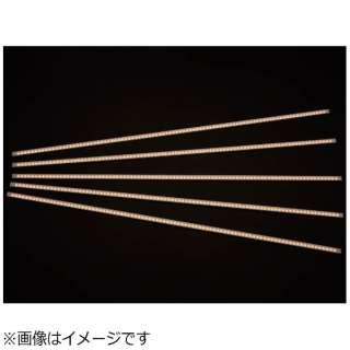 LED棚下照明5本セットL【電球色】5本接続90cm間隔配線ケーブル付 《業務専用》 STS900ILY