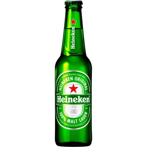 ハイネケン ロングネック瓶 330ml(24本)【海外ビール】