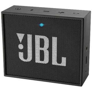 ブルートゥース スピーカー JBLGOBLK ブラック [Bluetooth対応]