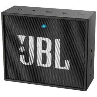 JBLGOBLK ブルートゥース スピーカー ブラック [Bluetooth対応]