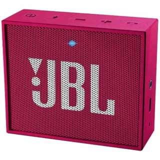 ブルートゥース スピーカー JBLGOPINK ピンク [Bluetooth対応]