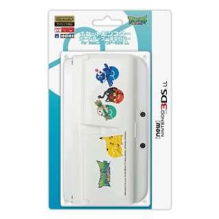 ポケットモンスターカードケース一体型カバー for Newニンテンドー3DS LL アローラ【New3DS LL】