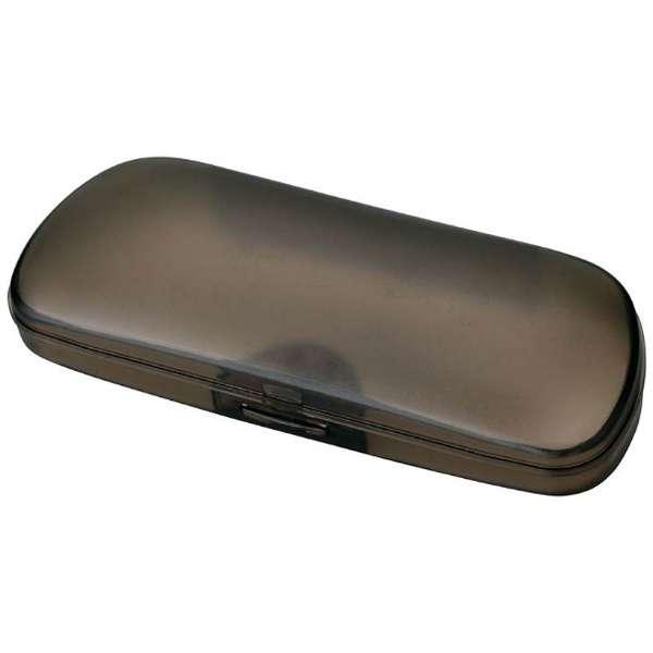 プラスチック ハード メガネケース(ブラック)SP-56 BL