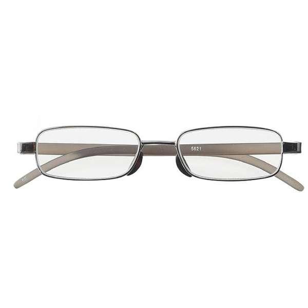 老眼鏡 ライブラリーコンパクト 5621(ライトガンメタル/+1.00) 5621-10