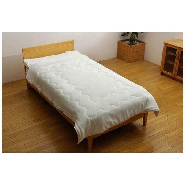 フランアイズ毛布(ダブルサイズ/180×200cm/アイボリー)