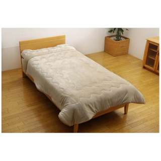 フランアイズ毛布(セミダブルサイズ/160×200cm/ベージュ)