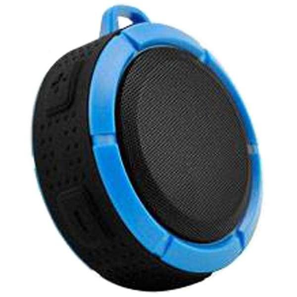 iina-03 ブルートゥース スピーカー ブルー [Bluetooth対応 /防水]