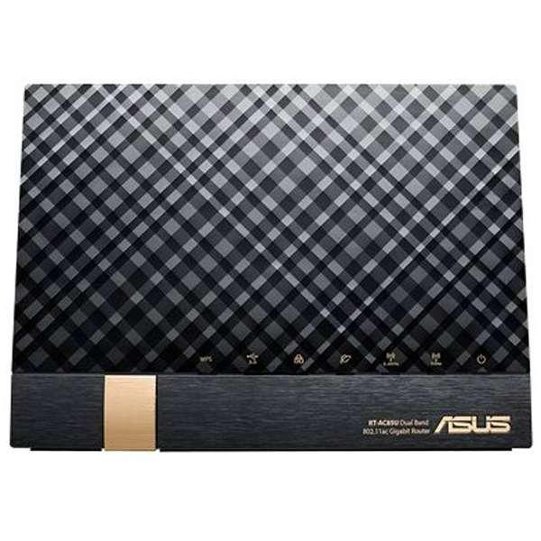 RT-AC85U wifiルーター ASUS ブラック [ac/n/a/g/b]