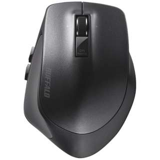 BSMBB500LBK マウス BSMBB500Lシリーズ ブラック [BlueLED /5ボタン /Bluetooth /無線(ワイヤレス)]