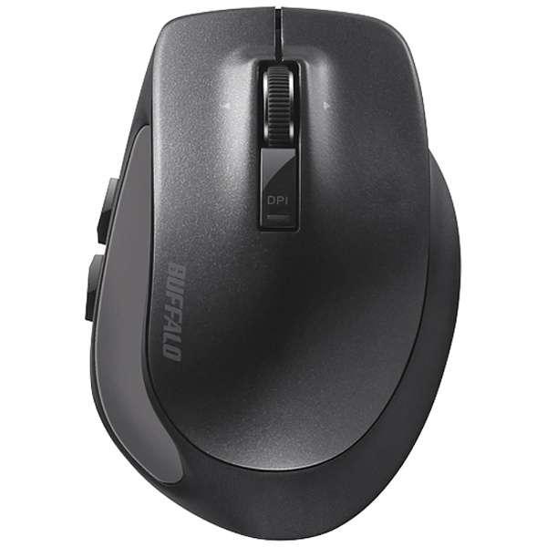 BSMBB500SBK マウス BSMBB500Sシリーズ ブラック [BlueLED /5ボタン /Bluetooth /無線(ワイヤレス)]