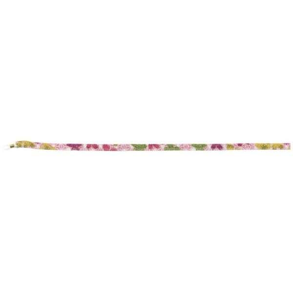 小紋メガネストラップ(賑い麻の葉桜/ピンク)