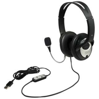 UHP-01BK ヘッドセット ブラック [USB /両耳 /ヘッドバンドタイプ]