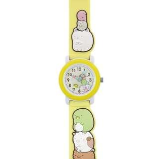 キャラクター腕時計 すみっコぐらし(イエロー) SX-V08-SG 【正規品】
