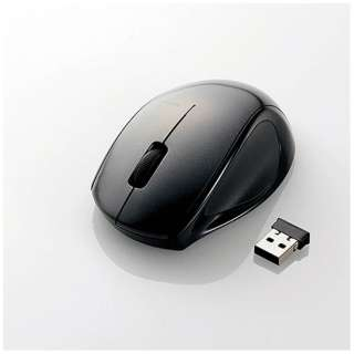M-LS14DLBK マウス M-LS14DLシリーズ [レーザー/3ボタン/USB/無線] M-LS14DLシリーズ ブラック [BlueLED /3ボタン /USB /無線(ワイヤレス)]