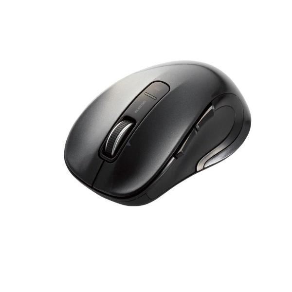 エレコム 無線(ワイヤレス)マウス M-LS15DLシリーズ ブラック レーザー式/5ボタン 横スクロール対応 M-LS15DLBK ELECOM