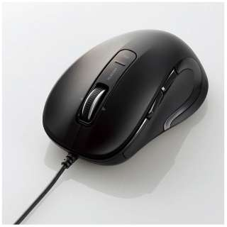M-LS15ULBK マウス M-LS15ULシリーズ [レーザー/5ボタン/USB/有線] M-LS15ULシリーズ ブラック [BlueLED /5ボタン /USB /有線]