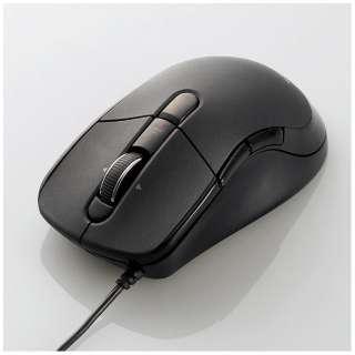M-LS16ULBK マウス M-LS16DLシリーズ ブラック [BlueLED /5ボタン /USB /有線]