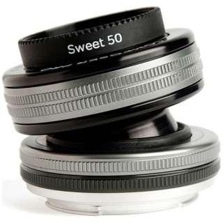 カメラレンズ コンポーザープロII スウィート50 ブラック [キヤノンEF /単焦点レンズ]