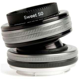 カメラレンズ コンポーザープロII スウィート50 ブラック [ソニーA(α) /単焦点レンズ]