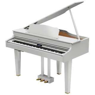 電子ピアノ GP607-PWS 白塗鏡面艶出し塗装仕上げ [88鍵盤]