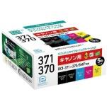 ECI-C3715P リサイクルインクカートリッジ【キヤノン用  BCI-371+370/5MP互換】 5色パック