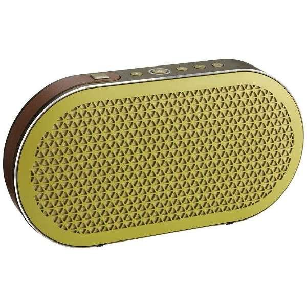 KATCH/GM ブルートゥース スピーカー グリーン・モス [Bluetooth対応]