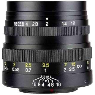 カメラレンズ FREEWALKER 42.5mm F1.2 SPEEDMASTER ブラック [マイクロフォーサーズ /単焦点レンズ]