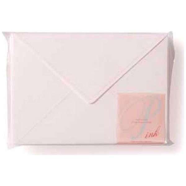 [封筒] EDC 封筒 パステル ローズホワイト( ピンク) (40枚、洋2) EN4-03