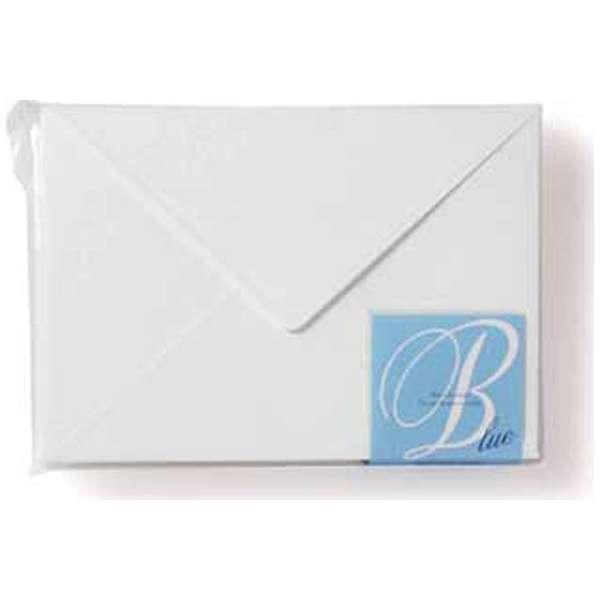 [封筒] EDC 封筒 パステル スカイホワイト(ブルー) (40枚、洋2) EN4-04