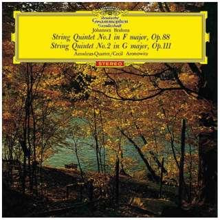 アマデウス弦楽四重奏団/ブラームス:弦楽五重奏曲第1番、第2番 【CD】