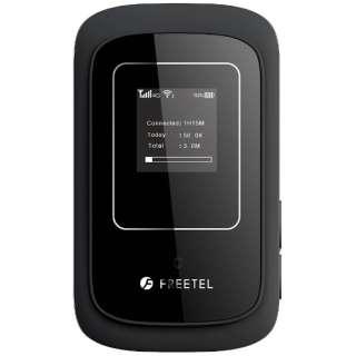 【SIMフリー】ARIA 2 ブラック [FTJ162A-ARIA2-BK] 標準SIMx1 LTE/Wi-Fi[無線n/g/b(2.4GHz)]SIMフリーモバイルルーター