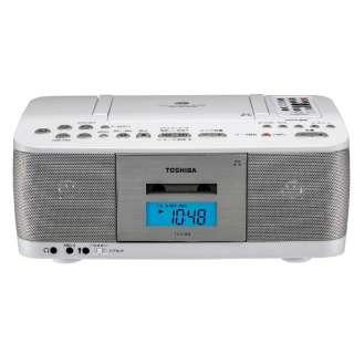 TY-CDK9 ラジカセ ホワイト [ワイドFM対応 /CDラジカセ]