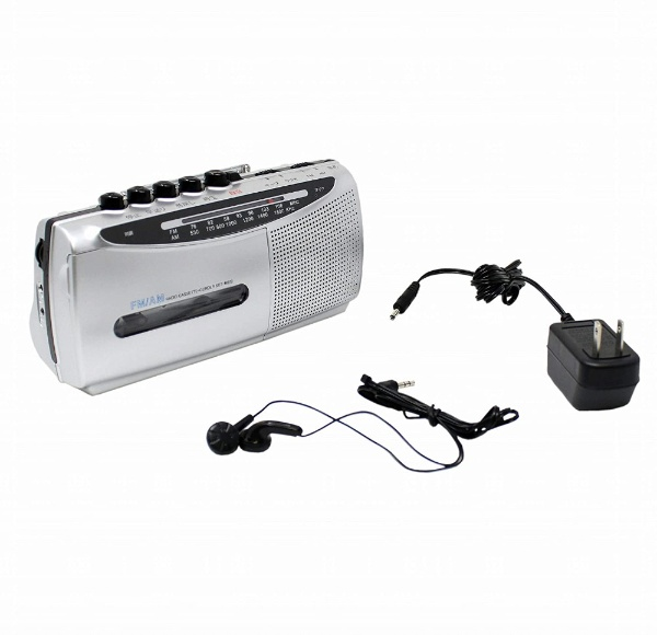 WINTECH モノラルラジカセ SCT-M200S ラジカセ/CDラジオ