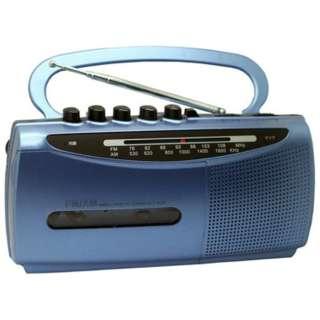 SCT-M200 ラジカセ WINTECH(ウィンテック) ブルー [ワイドFM対応]