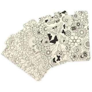 iPhone 6s/6用 Secret Garden case 大人の塗り絵 ひみつの花園 クリア Johanna Basford